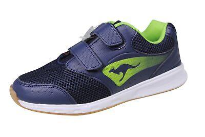 Kangaroos Kinder Jungen Halbschuhe Klettschuhe Sneaker Turnschuhe Shoes k15