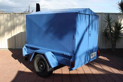 6x4 Covered/Box Trailer