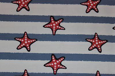 e Sea Jersey Seesterne und Streifen Blau weiß rot maritim (Sterne Und Streifen)