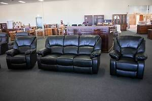 *NEW* $949 LEATHER LOOK SOFA SUITE Osborne Park Stirling Area Preview