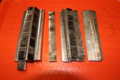 Letterpress Printing Frame Quoin 5-14 Shims Spacers Lot Of 27