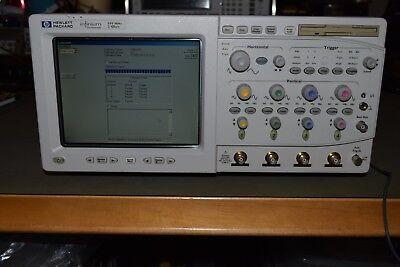 Hp 54825a Infiniium Infinium Digital Oscilloscope 500mhz 2gss Full Probes Set