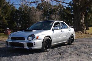 Subaru Wrx 2002 Swap STI