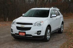 2010 Chevrolet Equinox LTZ AWD | V6 | Sunroof | Leather | CER...