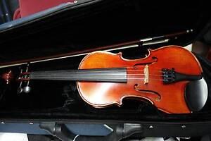 1/2 Schoenbach Violin Good Tone Repaired Dundas Parramatta Area Preview