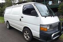 1993 Toyota Hiace Van long wheel base diesel Mullumbimby Byron Area Preview