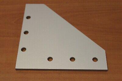 8020 Aluminum 6 Hole - 90 Degree Flat Plate 15 Series 4352 Custom L8-04