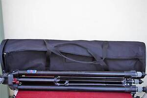 Manfrotto Triaut PRO 058B tripod + Heavy padded bag , ship by TNT Noble Park Greater Dandenong Preview