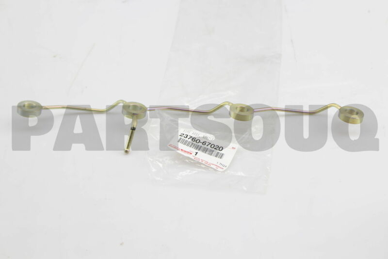 2376067020 Genuine Toyota Pipe Assy, Nozzle Leakage 23760-67020