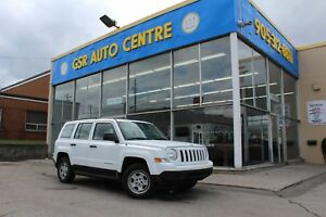 2013 Jeep Patriot SPORT 2WD | MANUAL | CLOTH SEATS | EVERYONE GE