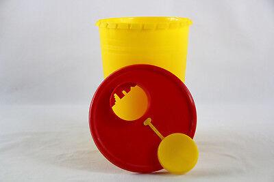 Kanülensammler Kanülenbox Kanülenabwurfbehälter 2,0 Ltr. Multi-Safe Quick 2000