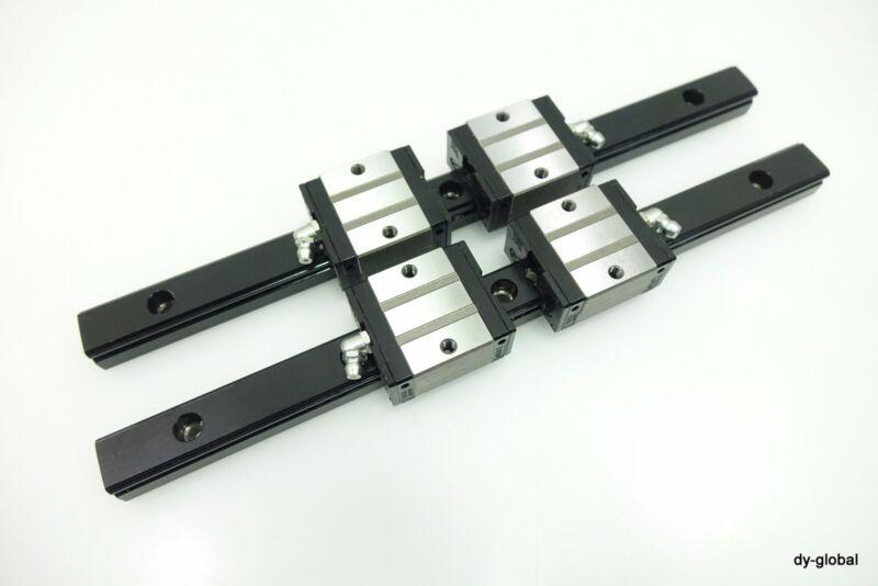 NSK Used LS20CL+300L Linear Actuator Bearing Router THK 2Rail 4BLock SR20V LAS20