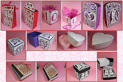 Brother ScanNCut Larger Gift Boxes & Bags CD1065