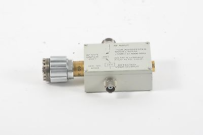 Wiltron Vswr Swr Autotester Model 63g50 10 Mhz To 4000 Mhz