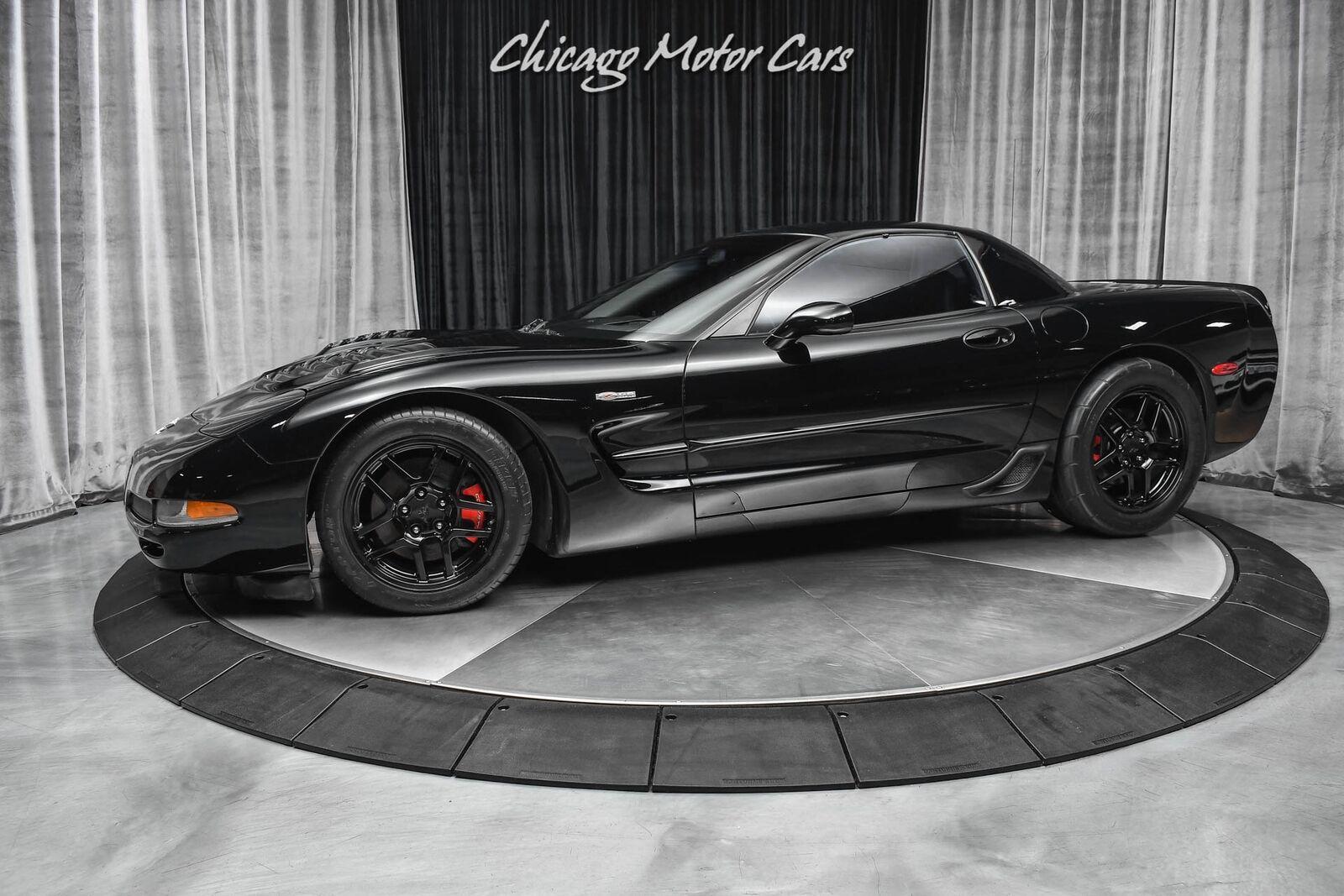 2003 Black Chevrolet Corvette Z06  | C5 Corvette Photo 1