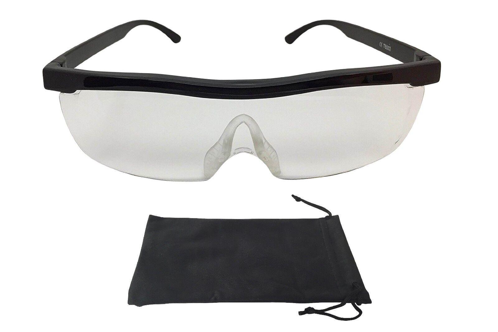 Vergrößerungsbrille Lupenbrille Zauberbrille Lupe auf der Nase 200% Vergrößerung