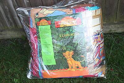 The Lion King Twin Comforter 62 X 86 Walt Disney Simba Pumba Timon