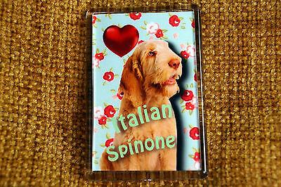 Italian Spinone Gift Dog Fridge Magnet 77 x 51 mm Birthday Gift