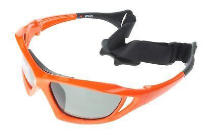 Polarized Water Sport Sunglasses Surf Kitesurfing Glasses Orange Gray 601