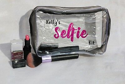 Glam Kit (Personalised Selfie Kit Glam Kit Make Up Toiletry Bag - Christmas)