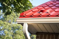 EAVESTROUGH SOFFIT FASCIA SIDING