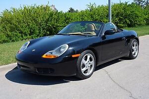 2002 Porsche Boxster Convertible 5 Speed Manual low mileage