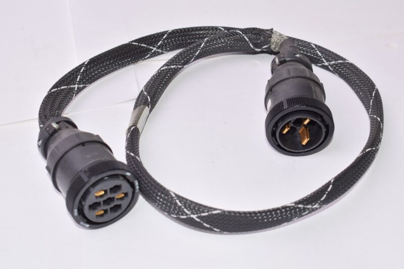 Amp 206136-1, Circular Connector Cable, Plug