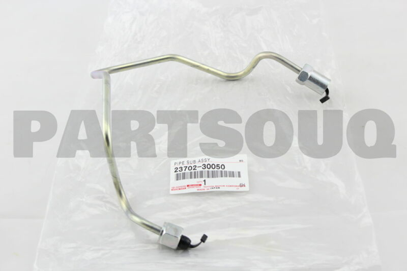 2370230050 Genuine Toyota Pipe Sub-assy, Injection, No.2 23702-30050