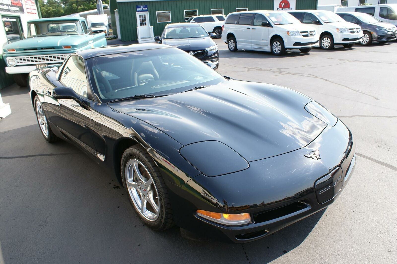 2004 Black Chevrolet Corvette   | C5 Corvette Photo 6