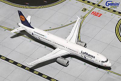 Gemini Jets Lufthansa (Germany) Airbus A321-100 GJDLH1619 1/400 REG# D-AIRR. New