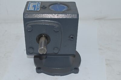 New Boston Gear F715-50-b5-g Right Angle Worm Gear Speed Reducer - Single Reduct