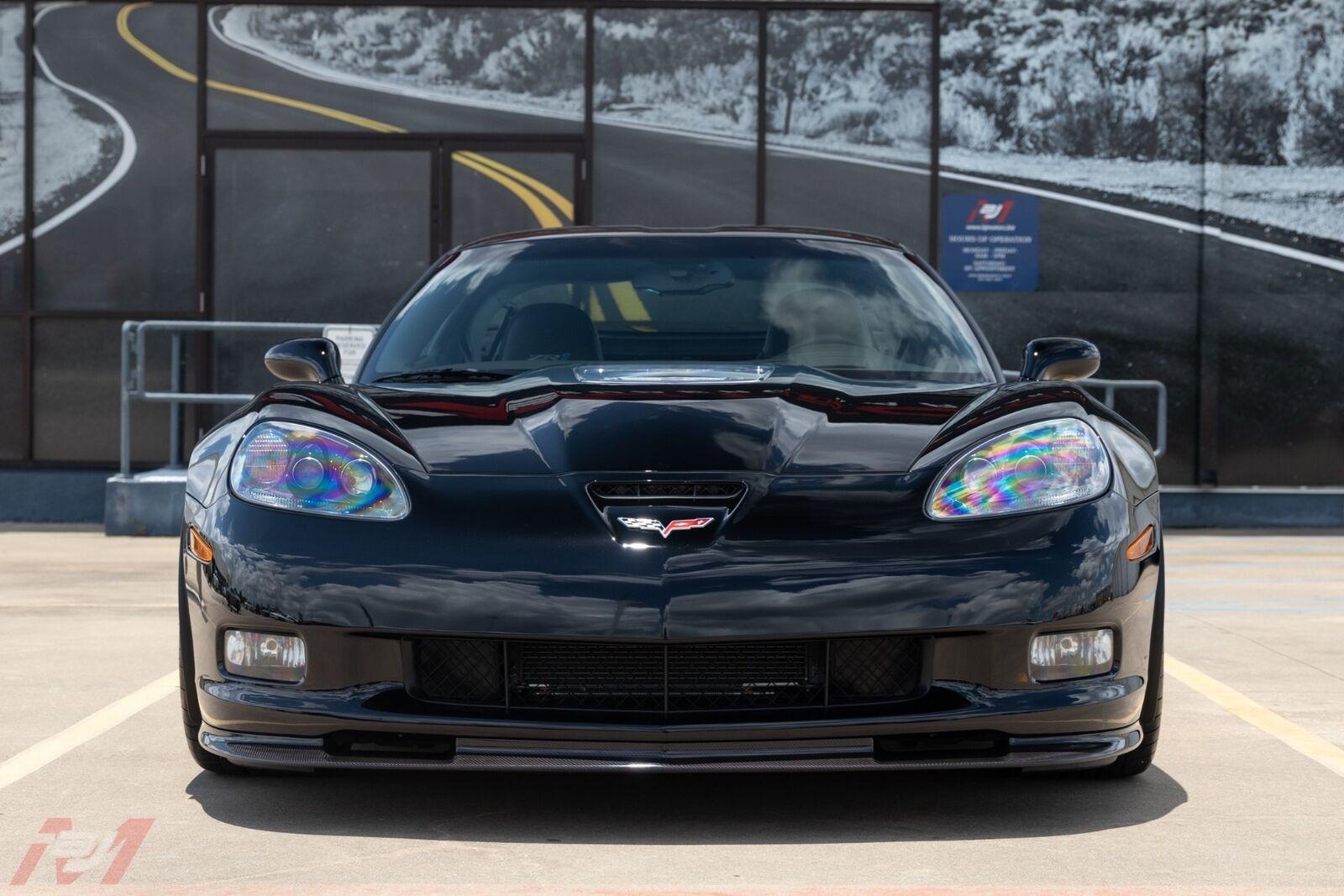 2009 Black Chevrolet Corvette ZR1    C6 Corvette Photo 3