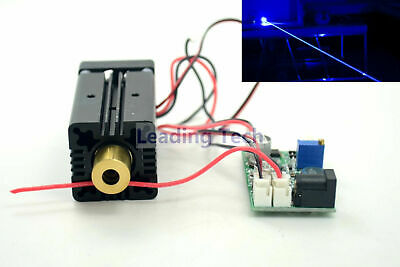 445nm 450nm 500mw High Power Blue Laser Dot Diode Module 12v Wttl Ac Adapter