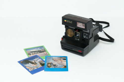 Polaroid 600 Land Camera Autofocus 660 - FILM TESTED, SEE SAMPLES