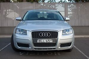 2008 Audi A3 Low KM Long Rego Great Condition Macquarie Park Ryde Area Preview