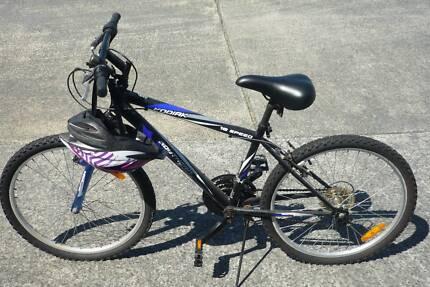 Kodiak Southern Star mountain bike 18speed plus helmet