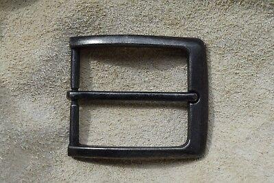 "Metal Belt Buckle TO FIT 38mm 1 1/2""  BELT matt old silver B"