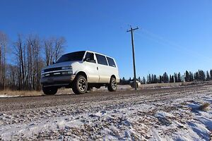 SOLD** Lifted AWD Chevy Astro Van SOLD**