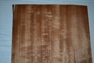 Mahogany Wood Veneer Sheets 8.5 X 46 Inches 142nd Blemished  F8629-2
