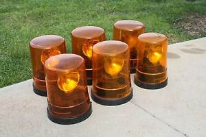 HELLA AMBER FLASHING LIGHTS SUIT TRUCK,UTE, FORKLIFT, 6 AVAILABLE Bendigo Bendigo City Preview