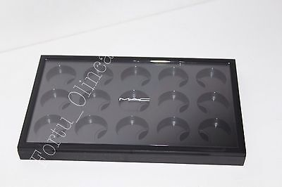 MAC PRO EMPTY 15 SLOT EYESHADOW PALETTE COMPLETE WITH INSERT 100% AUTHENTIC for sale  Shipping to India