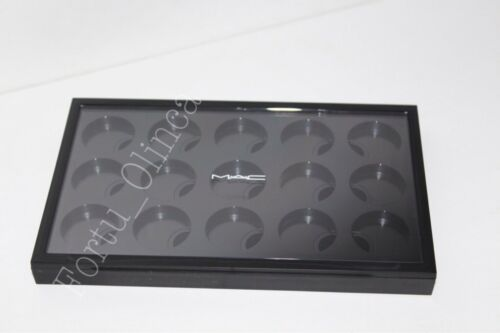 MAC PRO EMPTY 15 SLOT EYESHADOW PALETTE COMPLETE WITH INSERT