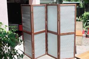 Rustic timber and galv screen Noosa Heads Noosa Area Preview
