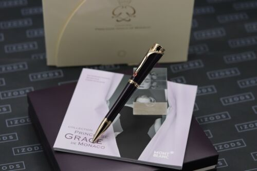 Montblanc Princesse Grace de Monaco Purple Resin Ballpoint Pen - UNUSED