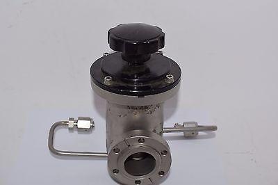 Mks Instruments Hps Vacuum Valve 15950 Manual Control Valve