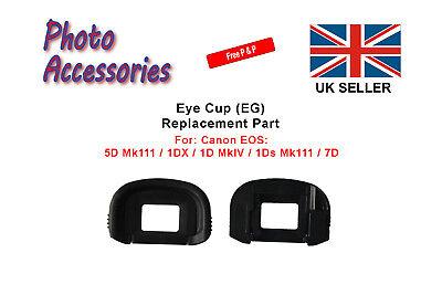 Eyecup (EG) Replacement Part for a Canon 5D Mk 111 1DX 1D Mk IV 1Ds Mk 111 7D