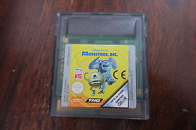 Monsters University/Monsters Inc for Game Boy Color