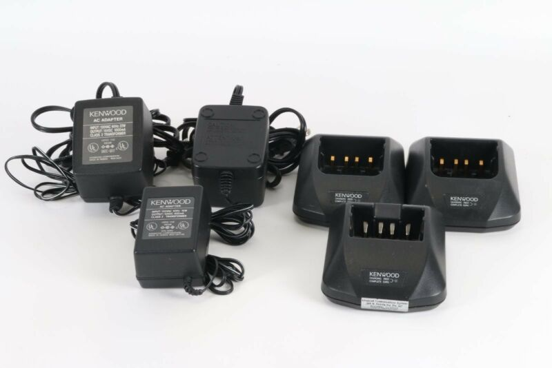 Lot of 3 Kenwood Rapid Chargers KSC-20 and KSC-16