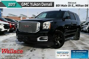 2017 GMC Yukon Denali/DVD/22s/SUNRF/ADAPTIVE CRUISE/LOADED!