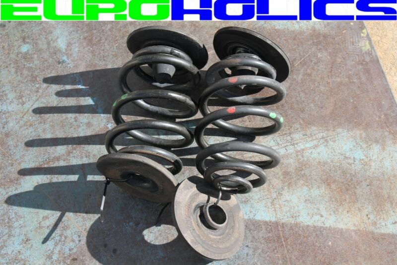 OEM BMW Z3 96-98 1.9L M44 Rear Coil Springs PAIR w/Rubber Seats 33539068807